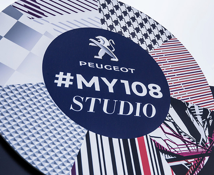 #My 108 Studio for Peugeot by A Little Bird