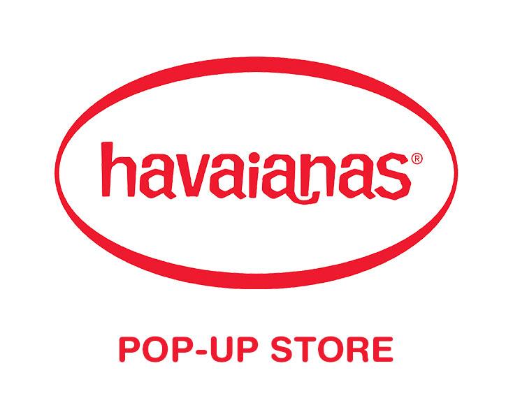 Havaianas pop up store