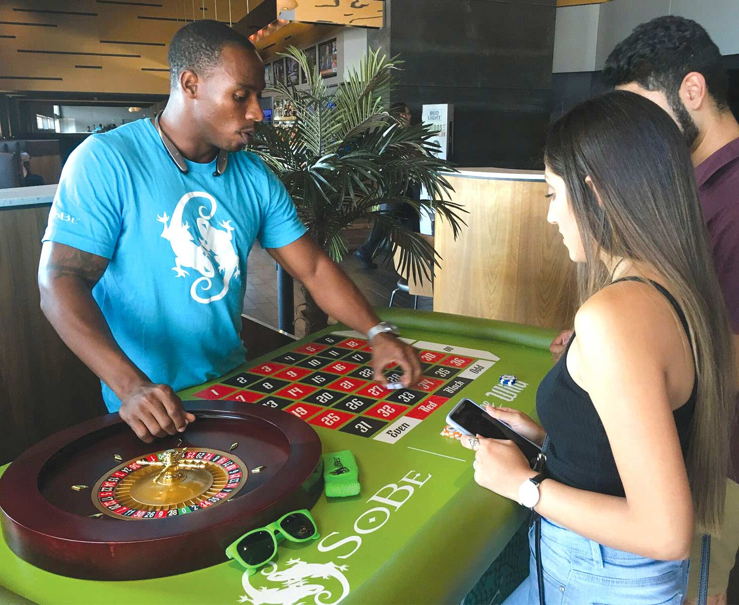 Sobe games brand activation